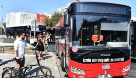 İzmir'de katlanır bisikletler otobüsleri kullanabilecek