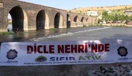 Dicle Nehri atıklardan arındırılıyor