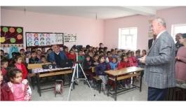 Başkan Akman'dan öğrencilere çevre eğitimi