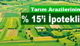 Türkiye'deki tarım arazilerinin yüzde 15'i ipotekli