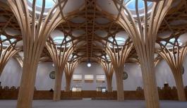 Avrupa'nın ilk çevre dostu camisi açıldı