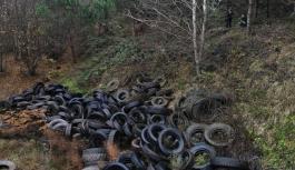 Şile ormanında çevre felaketi!
