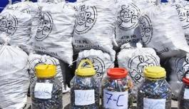 Kocasinan Belediyesi'nde 2019'da 2 bin 235 kilo atık pil toplandı