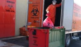 2,5 ayda 20 bin tondan fazla tıbbi atık toplandı
