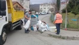 Çöp Konteynırları evsel atıklar içindir