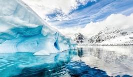 Deniz buzu yüz ölçümü 30 yıllık ortalamanın altında kaldı