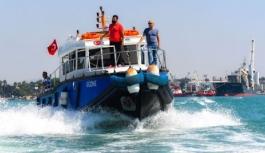 Mersin'de denizi kirleten gemilere 34 milyon lira ceza yazıldı
