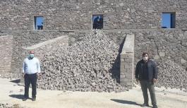 Atık taşları ekonomiye kazandıran tesis açıldı