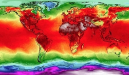 Dünyada son 5 yıl tarihin en sıcak 5 yılıoldu!