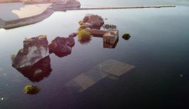 900 yıllık Küçük Saray da su altında kaldı