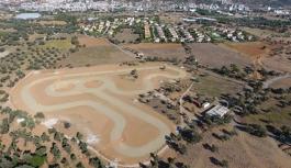 """Tarım alanına yapılması planlanan """"go-kart"""" pistinin imar planları onaylandı"""