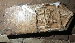 2 bin yıllık tarihi eseri İnşaat izlerken keşfetti
