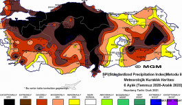 Meteoroliji'den korkutan harita!