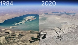 Google Earth'ten bir yerin 37 yıllık değişimi görülebilecek