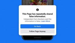 Facebook'tan 'yanlış haberler'e yaptırım