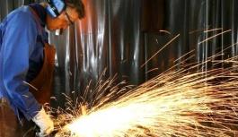 Sanayi üretimi yıllık bazda yüzde 3,6 azaldı
