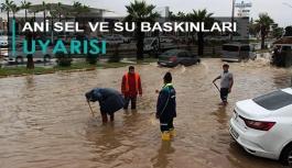 İzmir için kuvvetli sağanak uyarısı