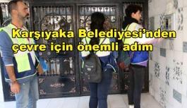 Karşıyaka Belediyesi'nden çevre için...