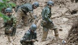 Japonya'daki sel felaketinde ölü...