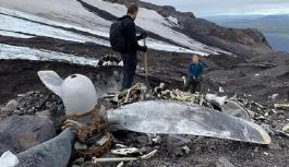 Buzullar eridi, 76 yıllık uçak gün yüzüne çıktı