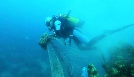 Denizlerden geçen yıl 10 bin metrekare...