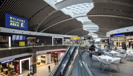 Fiumicino ve Ciampino havalimanları Avrupa'da...