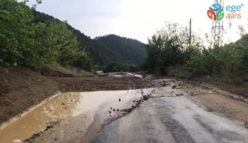 Bilecik'te Sel Baskını