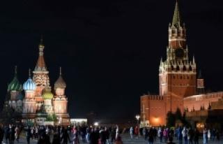 Kremlin'in ışıkları iklim değişikliği için...