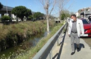 Su kanalına yapılan temiz su takviyesi de balık...