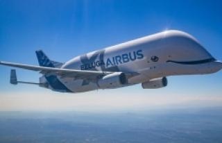 Airbus, Beluga filosunun çevre üzerindeki etkisini...
