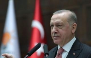 Erdoğan: 2030'a kadar yüzde 21 emisyon azalması...