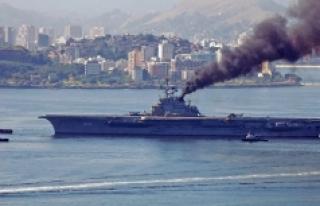 İzmir'e getirilen 600 ton asbestli gemiye tepki!