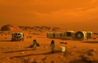 Mars'taki gizemli yer şekilleri astronotlara...