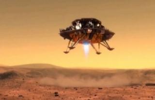 Mars'ta hayat arayışı yarışında yeni bir sayfa...