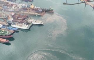 Mersin'de denizi kirleten gemilere 50 milyon...