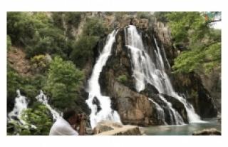 Antalya'nın gizli güzelliği 'Uçansu Şelalesi...