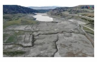 Çorum'da 11 milyon metreküp rezerve sahip barajda...