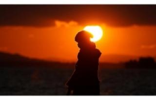 """""""Dünya'nın Güneş'ten gelen ısıyı..."""