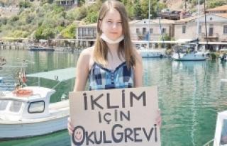 'Yerli Greta'dan Marmara için çağrı: Deniz...