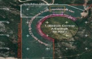 Urla'da 1. derece arkeolojik sit alanının 10...