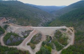 Karabük'teki Aldeğirmen Barajı'nın ekonomiye yılda 18,3 milyon lira katkı sağlaması hedefleniyor