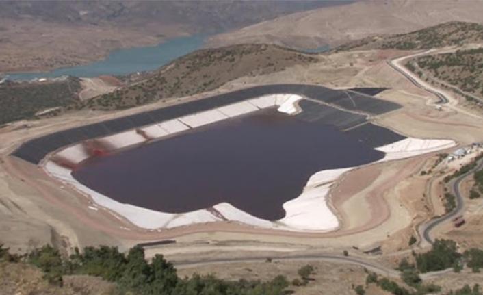 Çöpler Altın Madeni'nde siyanür havuzunda kapasite artırımına gidildi